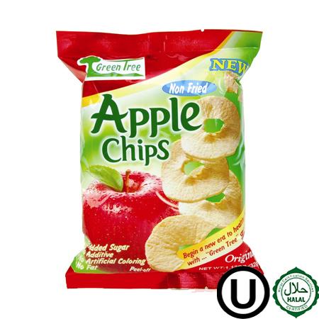47 chips de manzana 32grs